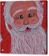Chris Kringle Acrylic Print