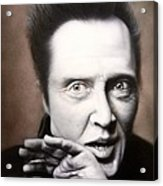 Chris Walken Acrylic Print