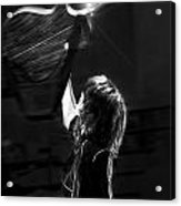 Chrissie Hynde Encore By Denise Dube Acrylic Print