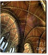 Christ Church Cathedral Roof Detail Acrylic Print