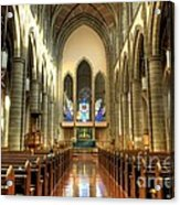Christ Church Cathedral Victoria British Columbia Acrylic Print