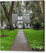 Christ Church Saint Simons Island Georgia Acrylic Print