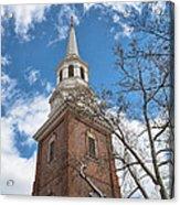 Christ Church Steeple Acrylic Print