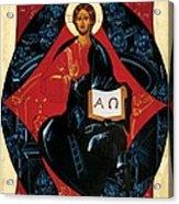 Christ In Majesty Acrylic Print