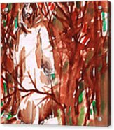 Christ In The Forest Acrylic Print