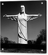 Christ Of The Ozarks Acrylic Print by Benjamin Yeager