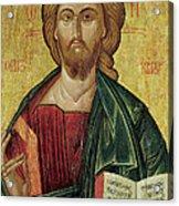 Christ Pantocrator Acrylic Print
