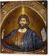 Christ Pantocrator Mosaic Acrylic Print