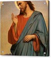 Christ Weeping Over Jerusalem Ary Scheffer Acrylic Print