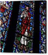 Christ Window Acrylic Print
