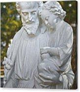 Christ With Child Acrylic Print