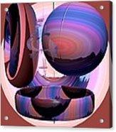 Christalline Energies Acrylic Print