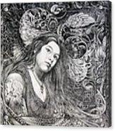 Christan Portrait Acrylic Print