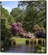 Christchurch Botanic Gardens New Zealand Acrylic Print