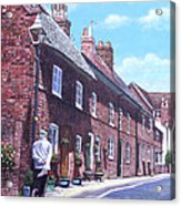 Christchurch Church Lane Acrylic Print