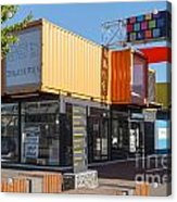 Christchurch Restart Containers Acrylic Print