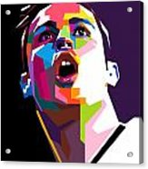 Christiano Ronaldo Acrylic Print
