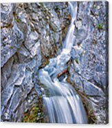 Christine Falls In Mount Rainier National Park Acrylic Print