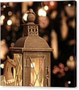 Christmas And New Year Decoration Acrylic Print