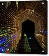 Christmas Arch Zoom Acrylic Print