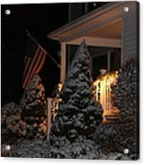 Christmas At Home Acrylic Print