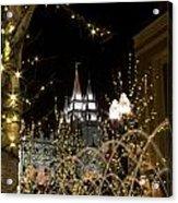 Christmas At Temple Square 11 Acrylic Print