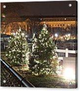 Christmas At The Ellipse - Washington Dc - 01131 Acrylic Print by DC Photographer