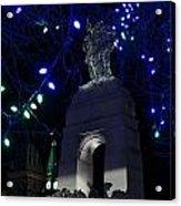 Christmas At The War Memorial Acrylic Print