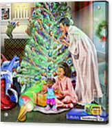 Christmas Back In Da Day Acrylic Print