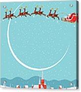 Christmas Background Acrylic Print