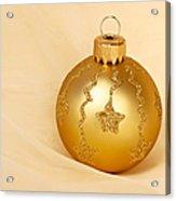 Christmas Ball Ornament Acrylic Print