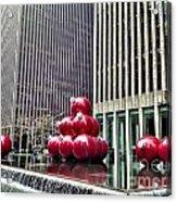 Christmas Balls Acrylic Print