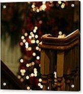Christmas Banister 1 Acrylic Print