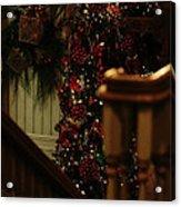 Christmas Banister 2 Acrylic Print