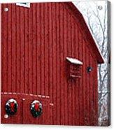 Christmas Barn 4 Acrylic Print