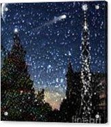 Christmas Baroque Acrylic Print