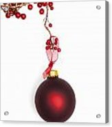Christmas Bauble Acrylic Print