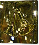 Christmas Bells Ornaments Faneuil Hall Tree Boston Acrylic Print