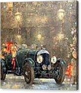 Christmas Bentley Acrylic Print