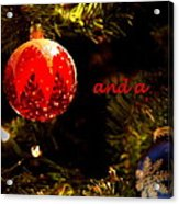 Christmas Best Acrylic Print