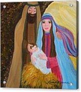 Christmas Blessing Acrylic Print