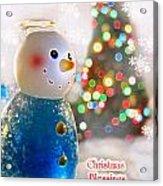 Christmas Blessings Acrylic Print