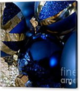 Christmas Blue Acrylic Print