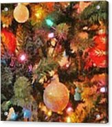 Christmas Branches Acrylic Print