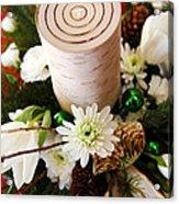 Christmas Candle 1 Acrylic Print
