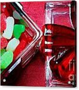 Christmas Candy - Candy Dish - Sweets - Treats Acrylic Print