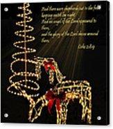 Christmas Card 2014 Acrylic Print