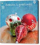 Christmas Card 6 Acrylic Print
