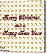 Christmas Cards And Artwork Christmas Wishes 1 Acrylic Print