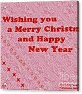 Christmas Cards And Artwork Christmas Wishes 10 Acrylic Print